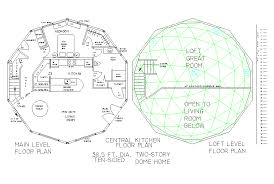 Dome Home Floorplans Centralized Kitchen Floor Plans
