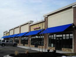 Commercial Building Awnings Commercial Awnings Kansas City Tent U0026 Awning Shopping Center
