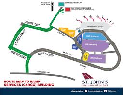 Phoenix Airport Terminal Map Cargo U0026 Courier Services St John U0027s International Airport