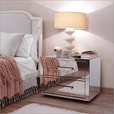 Bed Side Desk Furniture Mirrored Bedside Tables Mirrored Side Table Mirror