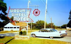 Classic Motel Wagon Wheel Motel Cuba Mo Pauline Armstrong Route 66 1993