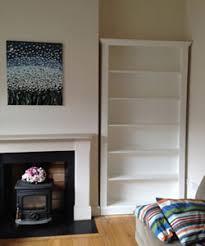 Free Standing Bookshelves Irish Made Pine Furniture Any Design And Finish We Can Make It
