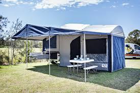 homestead 18 qe tent by emu campers emu camper trailers gold coast
