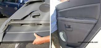 fox mustang interior restoration interior rear 1 4 panel plastic restoration