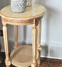 Small Side Table Small Side Table Painted Furniture Makeover Jennifer Rizzo