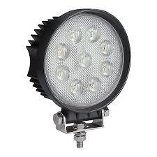 420 lumen led work light 0 420 87 durite 12v 24v super bright round led work l