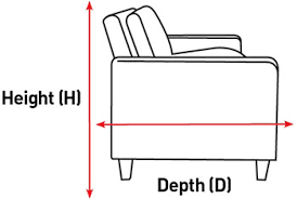 Dimensions Of A Couch Our Sofa Measuring Guide Including Video Habitat Uk