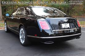 matte black bentley mulsanne 2015 bentley mulsanne stock 5nc001086 for sale near vienna va