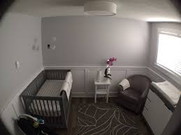 Spell Wainscoting Restoration Hardware Pumice Gray Nursery With Wainscoting And