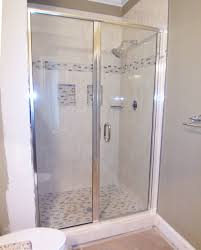 Frameless Shower Doors Okc Bathroom Semi Frameless Shower Door And Panels Ideas Some