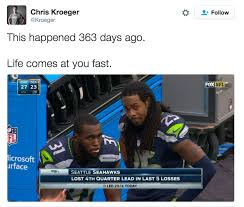 Seahawks Lose Meme - seahawks life comes at you fast know your meme