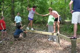 team building program low ropes course awf