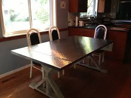 Kitchen  Stainless Steel Kitchen Table Intended For Amazing - Stainless steel kitchen table top