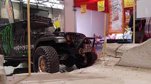 backyards jeep wrangler unlimited sahara pro line racing jeep wrangler scx 10 youtube