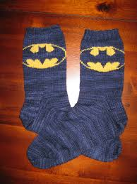 knitted batman socks batman socks by bruppert diy superhero