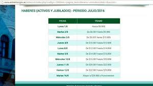calendario de pago de medio aguinaldo 2016 entre ríos estiró tres días el cronograma de pagos noticias