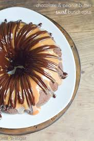 Halloween Bundt Cake Chocolate Peanut Butter Swirl Bundt Cake Lemon Sugar