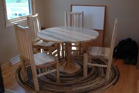 Log Dining Room Table by Log Dining Tables
