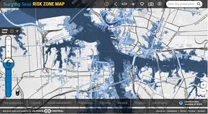 global zone map risk zone map global surging seas sea level rise analysis by