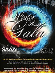 san antonio apartment association winter awards gala