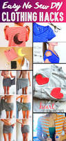 37 truly easy no sew diy clothing hacks love the shoulder bows