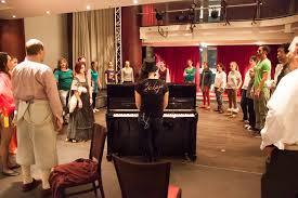 Maria Ward Schule Bad Homburg Proben Im English Theatre U2013 Clashffm