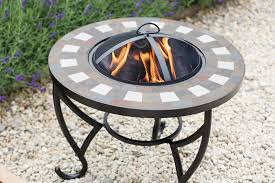 Firepits Co Uk La Hacienda Naxos Tiled Firepit