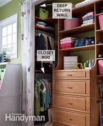 Adding A Closet To A Bedroom Diy Closet System Build A Low Cost Custom Closet Family Handyman
