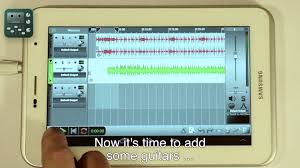 record audio android ntrack studio recording audio with android