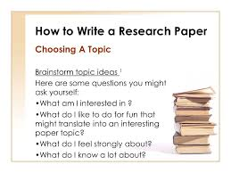 interesting topics for thesis paper how to write a research paper ppt video online download