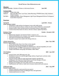 Warehouse Job Titles Resume Best Secrets About Creating Effective Business Systems Analyst Resume