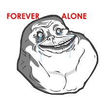 Forever Alone Girl Meme - 99 iphones weren t enough to make this girl say yes in this