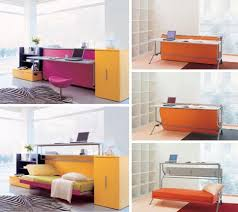 Office Desk Bed Convertible Furniture Cool Desk Bed Designs