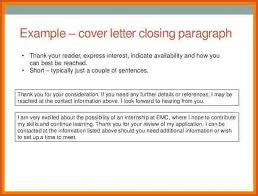 cover letter conclusion 28 images closing paragraph for resume