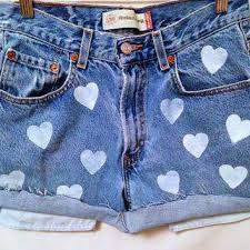 pattern jeans tumblr best high waisted shorts tumblr products on wanelo