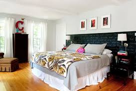 closet behind bed gorgeous cal king headboard in bedroom eclectic with closet behind