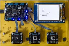 etch a netduino go creating an etch a sketch with the net micro