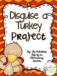 disguise a turkey project freebie top teachers smorgasboard