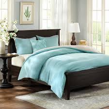 bedroom harbor house linen duvet cover set in blue for chic bed