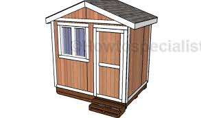 6x8 small garden shed plans howtospecialist how to build step