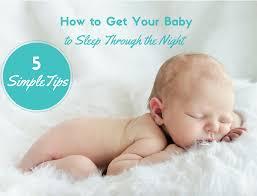 how to get baby to sleep through the sleep baby sleep