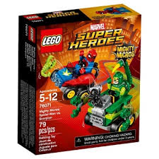 free spider man scorpion lego sampables