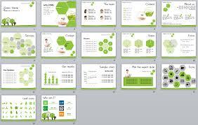 Green Theme Template User Friendly Theme Ppt 2010