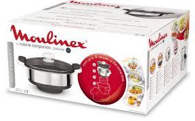 cuiseur moulinex cuisine companion cuiseur vapeur moulinex xf384b10 cuisine companion 3 7 l fnac