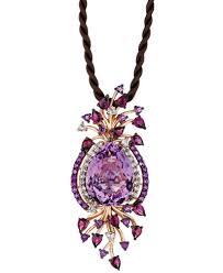 multi stone necklace images Le vian crazy collection multi stone cord pendant necklace in 14k tif