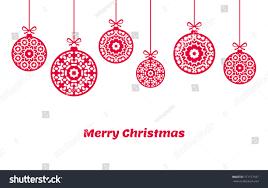balls ornaments decoration vector stock vector
