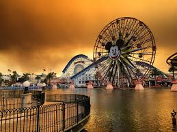anaheim orange county wildfires cause spooky disneyland sky time