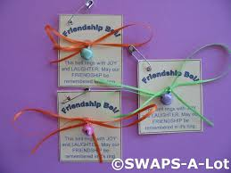 available for purchase is a swaps kit to create 25 mini friendship