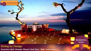 anantara bali uluwatu resort and spa bali indonesia youtube