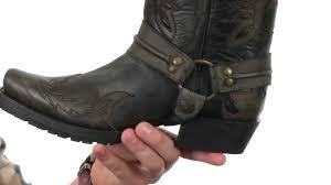 dingo motorcycle boots stetson outlaw eagle biker sku 8585434 youtube